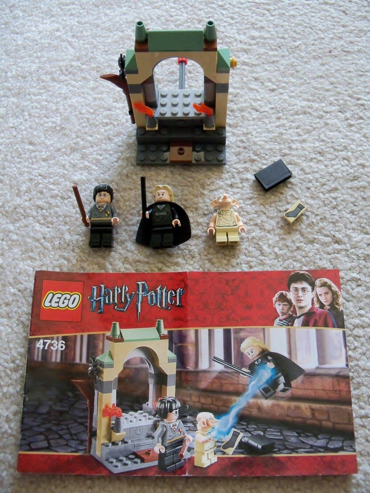 Lego Harry Potter - Selten - - Freeing Dobby 4736 - Selten Komplett mit   Anleitung cdbad0