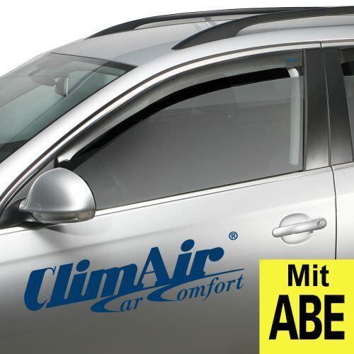 ClimAir Windabweiser grau vorne BMW 7er Typ E65//765//E66 5Türer 2001-2008
