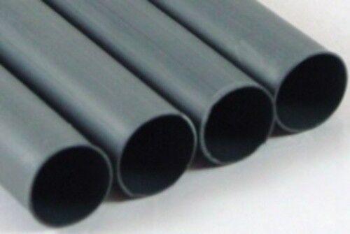 "1/2"" Adhesive Lined Heat Shrink Tubing Black Perma-Fit Dual Wall PER Foot MOLEX"