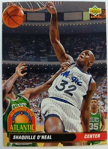 1993-93-Upper-Deck-Shaquille-O-039-Neal-AD1-Atlantic-All-Division-Team-Rookie-RC