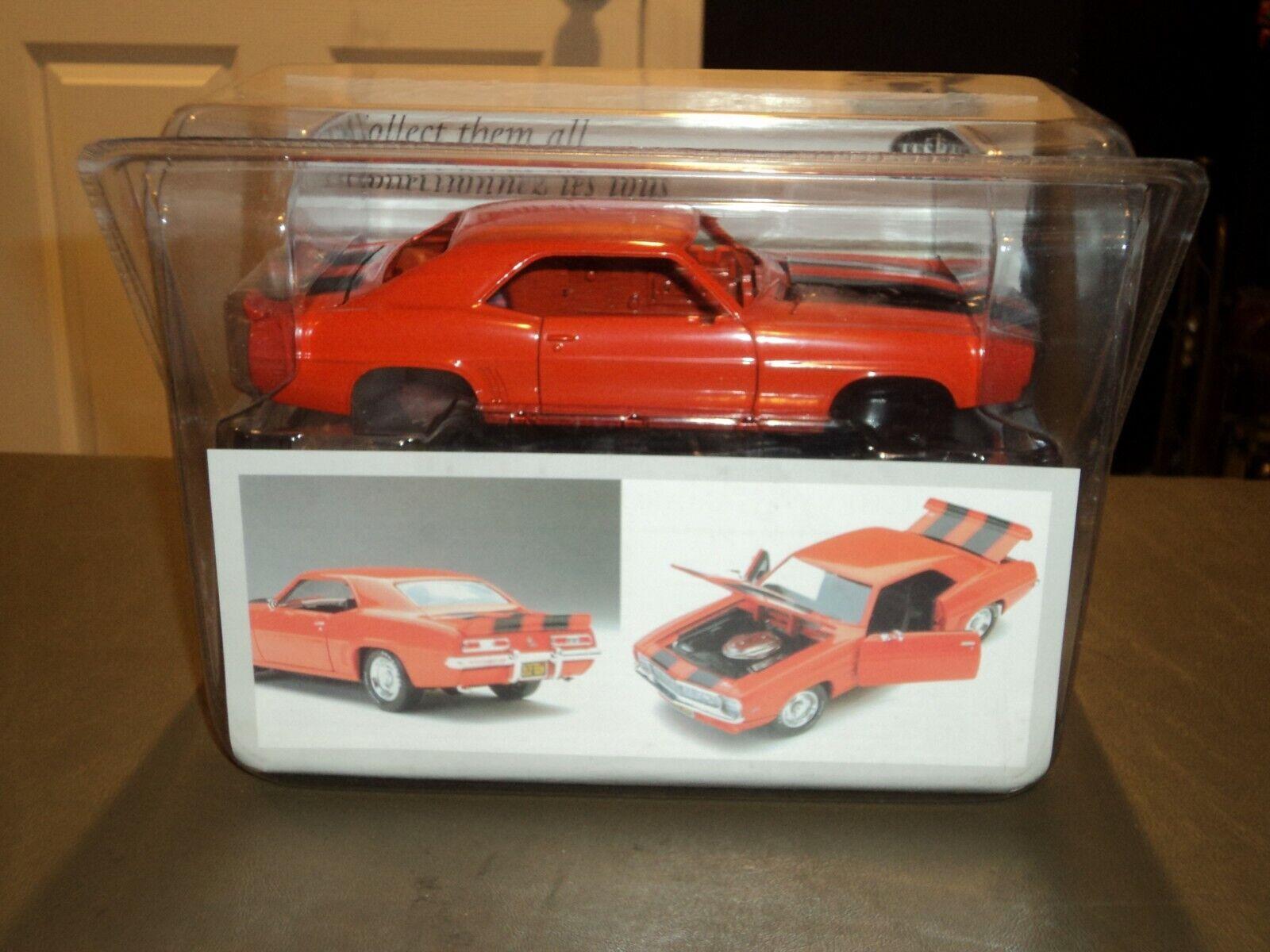 mejor moda Testors Platino Cuerpo Cuerpo Cuerpo De Metal 1969 69 Chevy Camaro Z 28 Die Cast coche 1 24 Naranja  hasta 42% de descuento