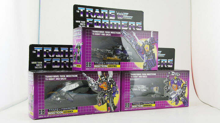 Transformers  INSECTICON 3in1 G1 Re-issue  Brand NEW NEW NEW COLLECTION Toys & Gifts 753622