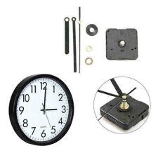 Classic Quartz Clock Movement Mechanism Black Metal Kit Pointer Parts Z7G1