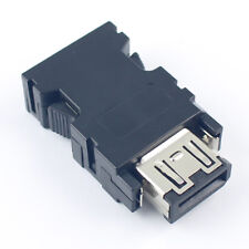 1Pcs Firewire IEEE 1394 Male 6 Pin Position Solder Plug Connector For Cable