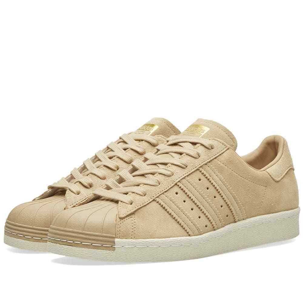 Adidas Originals Superstar 80s 80s 80s Mens Trainers Brown Sneakers shoes - BB2227 ec15f0