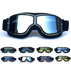 Gears Sunglasses Vintage Retro Goggles Cruiser Scooter Motorcycle Glasses Pilot