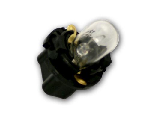 4-Pack 67-80 Chevy C10 Truck Instrument Light Bulb /& Socket Printed Circuit Dash