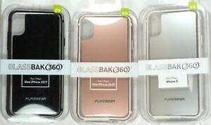 for-iPhone-X-Xs-tempered-glass-back-360-bumper-Case-PureGear-GlassBak-360