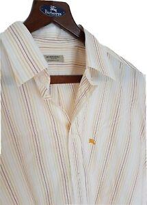 Mens-chic-BURBERRY-LONDON-by-BURBERRY-long-sleeve-shirt-size-XL-RRP-175