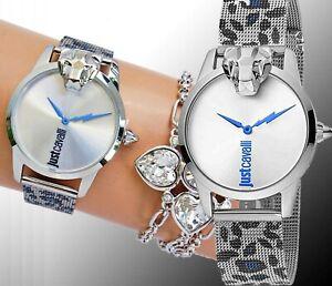Just-Cavalli-jc1l057m0275-jc-shine-armbanduhr-damenuhr-meshband-zweifarbig-neu