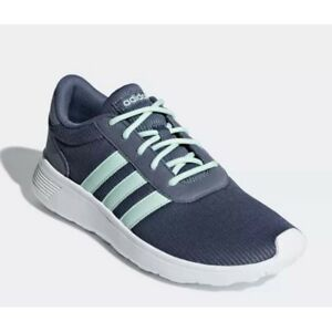 551b5ca2b79b42 Details about SHOE WOMAN ADIDAS B44653 B44654 LITE RACER GREY PINK GYM  SPORTS