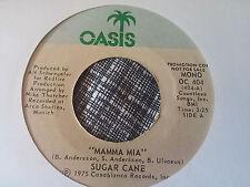 Sugar Cane 45 Mamma Mia Oasis Promo 404 Euro Disco VG++