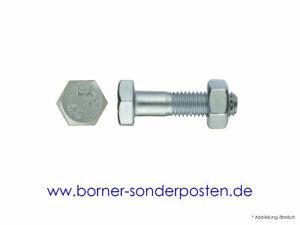Sechskantschrauben-mit-Mutter-M10-x-50-DIN-601-4-6-ZN-Cr3-1-50-Stk-neu