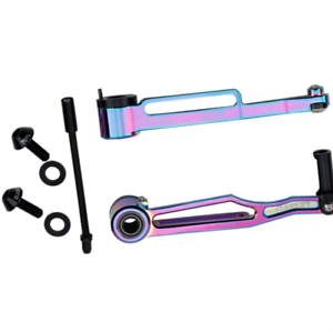 SILVER OR BLACK Mountain Bike Complete brake and levers // Cables Set