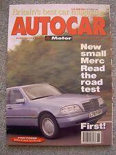 Autocar (8 Sep 1993) Porsche 911 Carrera 2, Mercedes C220, Citroen Xantia TD VSX