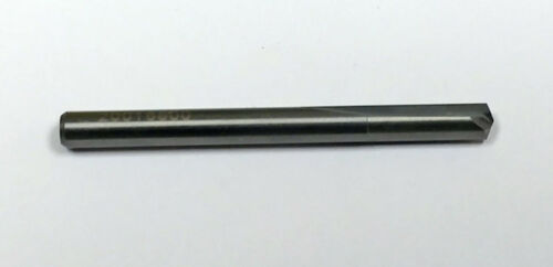 #19 Straight Flute Carbide Drill MF7491875 140 Degree Point
