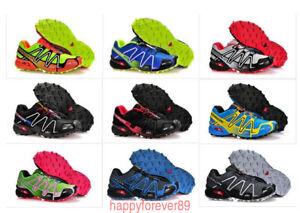 Details about Salomon Speedcross 3 hombre para caminar zapatillas de  deporte para correr