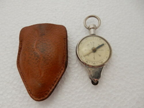 Vintage Selsi Germany Centimeters & Kilometres & Compass