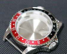 GMT style watch case ETA 2836, ETA 2824-2 Seagull ST1612, Miyota 8205