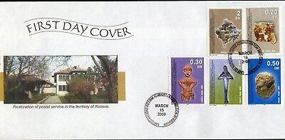 Kosovo 1/5 Fdc Frieden Im Kosovo Europa Briefmarken 1135