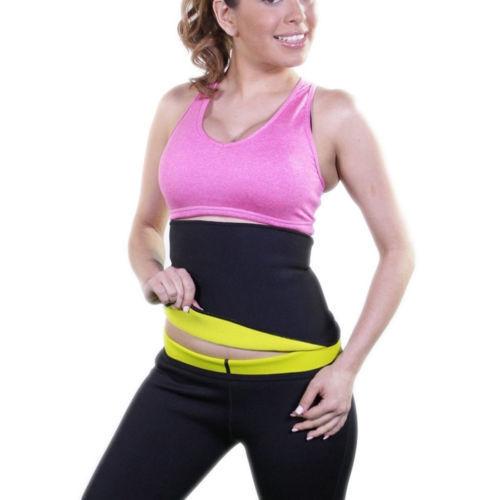 Women/'s Waist Slimming Trainer Weight Loss Cincher Body Shaper Tummy Control GYM
