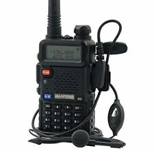 Handheld Radio Scanner Portable Two-Way Digital Transceiver Antenna Police EMS