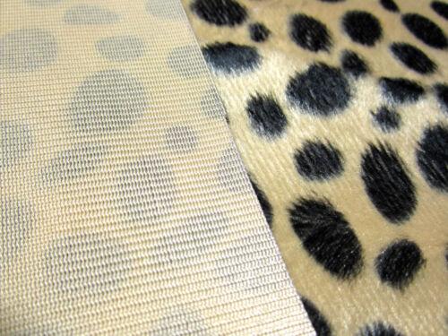Ff06a Faux Fur Brown Leopard Skin Print Cushion Cover//Pillow Case*Custom Size