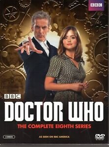 DOCTOR-WHO-THE-COMPLETE-EIGHTH-SERIES-DVD-NTSC-2014-5-DISC-BOX-SET-AS-NEW