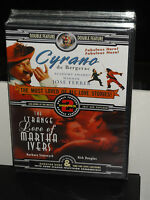 Cyrano / Strange Love Of Martha Ivers (dvd) 2 Cartoons Old Commercials