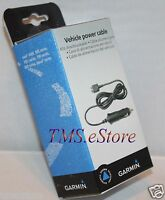 Original Garmin Zumo 450 550 660 665 Gps Cigarette Lighter Power Cable Charger