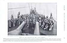 1896 del SANS PAREIL BATTAGLIA NAVALE MARINAI IN COPERTA Quick-Fire PISTOLE LIGHT GUN manutenzione