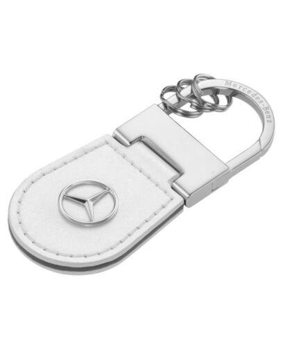 OEM Mercedes Benz Genuine Leather key chain ring Shanghai white B66958138