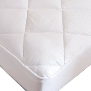 Luxury Deep Pocket Mattress Pad Overfilled Down