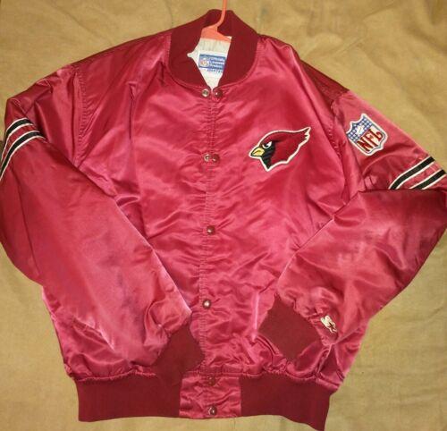 Vtg 80/'s Red Winston Eagle Racing Team Cardinal Snap Up Nylon Jacket Adult XL