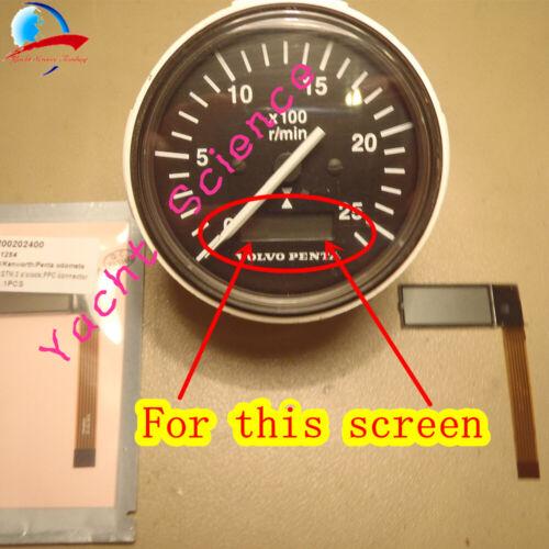 Volvo Penta Marine Yanmar Tachometer Hour Meter LCD Display /& ribbon