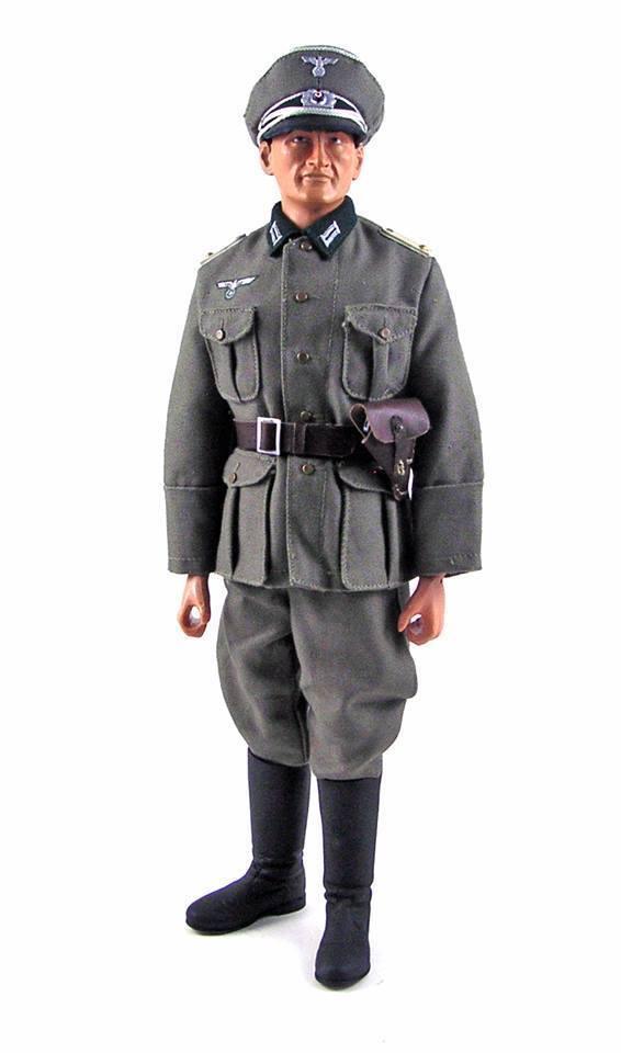 Elite BRIGADE par Cotswold ALLEMAND WEHRMACHT Lieutenant Figure Set EDF-56A