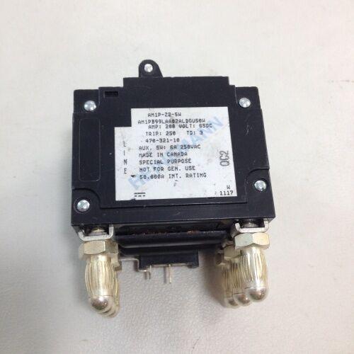 New Argus 470-321-10 Breaker 200 Amp 3 Pole Bullet Heinemann AM1P-Z2-5W