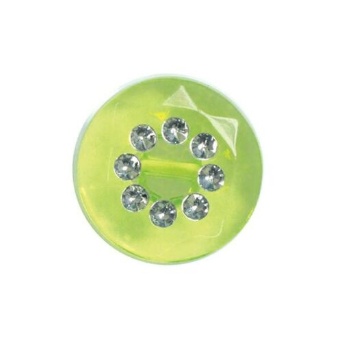 Finestyle Faux Diamante Acrylic Button Round Shank 11mm or 15mm
