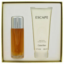 ESCAPE by Calvin Klein Gift Set -- 3.4 oz EDP Spray + 6.7 oz Body Lotion Women