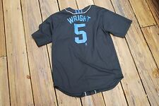 New York Mets David Wright Youth Large fits sizes 14/16 button up jersey