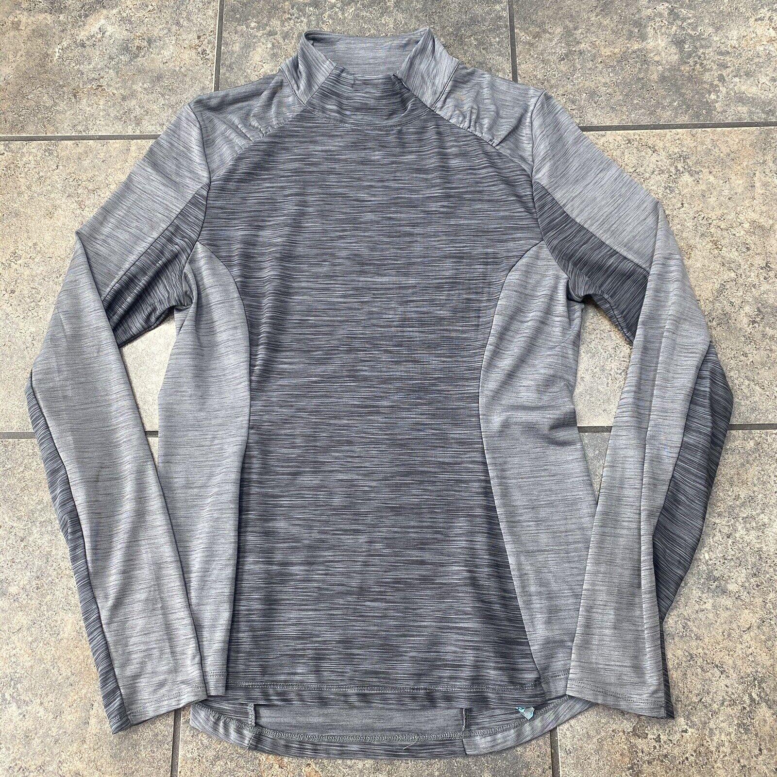 Women's Mondetta Long Sleeve Athetic Mock Neck Shirt Size Large