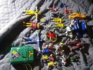 28-Vintage-Original-Bandai-Mighty-Morphin-Power-Rangers-Megazord-Evil-Aliens-Lot
