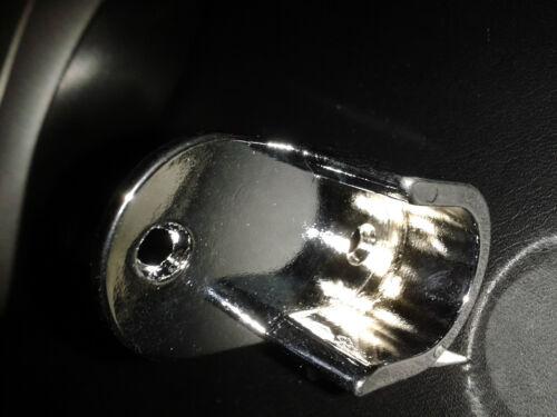 2,56€//Stk verchromt 18 mm Rohr Rohrlager Kleiderstange 8 Schrankrohrlager