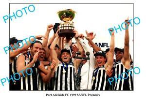 6-x-4-PHOTO-PORT-ADELAIDE-MAGPIES-1999-SANFL-PREMIERSHIP-WIN