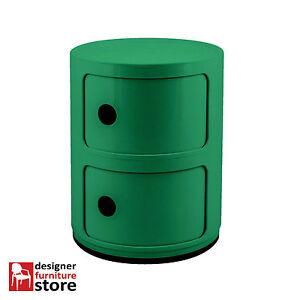 Replica-Componibili-Cabinet-2-Tier-Green