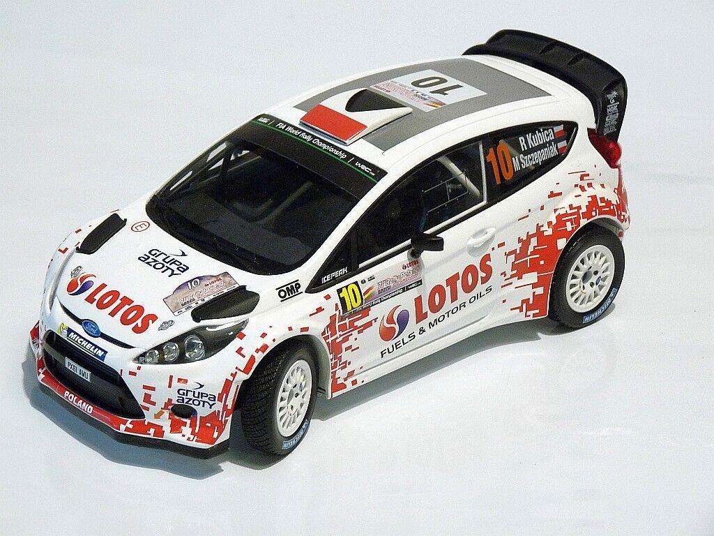 1 18 KUBICA   SZCZEPANIAK FORD FIESTA WRC RALLY POLAND 2014 1 18 CODE3