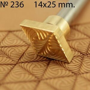 Leather Crafting Stamp Tool for Leather Crafts Brass #6