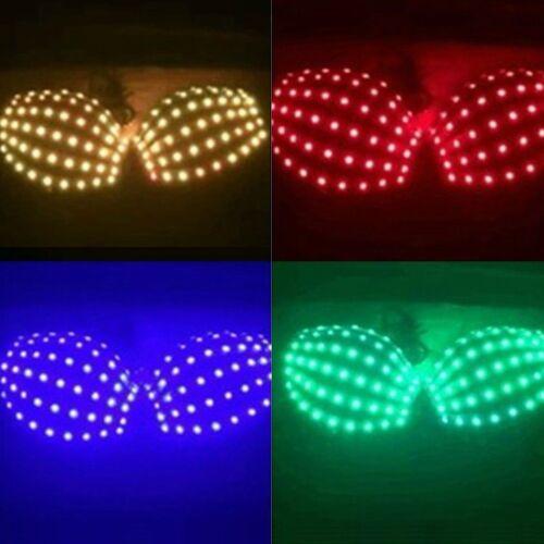 Odd LED Light Bra Change Colorful Bra Nightclub Fancy Dress Laser Led Costume