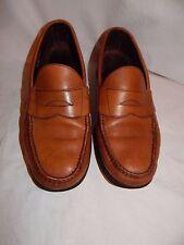 ALLEN EDMONDS Brown Paxton Penny Loafer dress shoes leather casual Men's 8.5 E