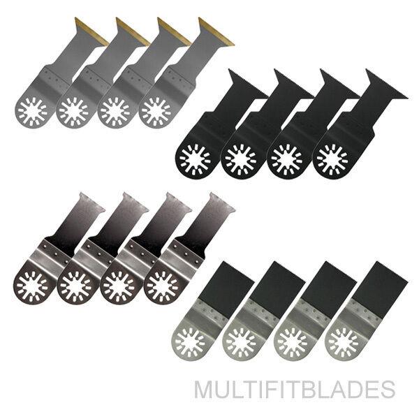 16pc Oscillating Multi Tool Bi-Metal Blade Kit - Ridgid JobMax, Ryobi JobPlus